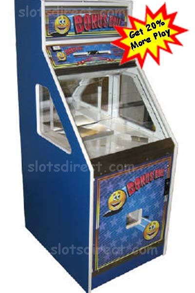 Bonus Hole Quarter Pusher machine SPECIAL DISCOUNT