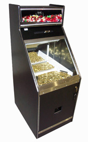 Candy Top Coin Slide Machine