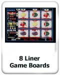 8 liner game boards