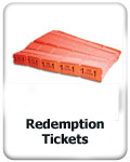 redemption tickets